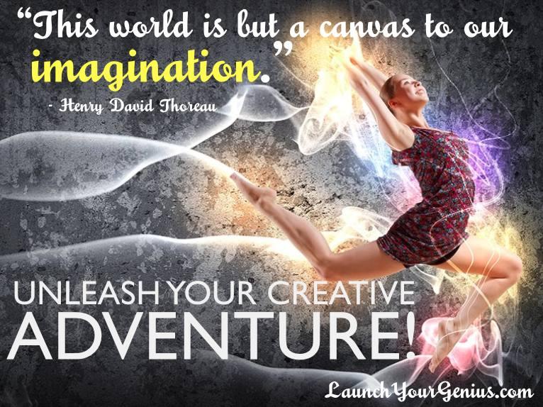unleash your creative adventure