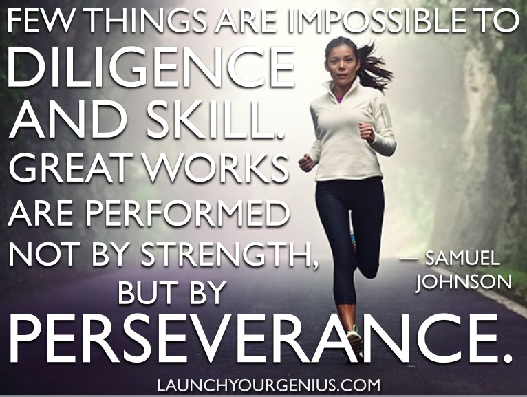 diligence perseverance