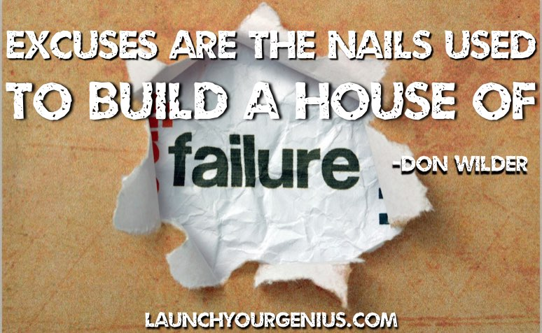 FAILURE AND EXCUSES