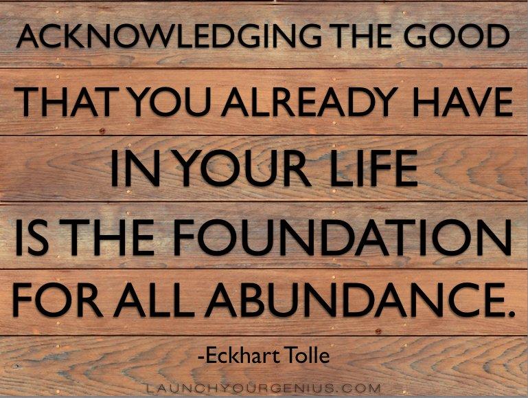 foundation of thanks