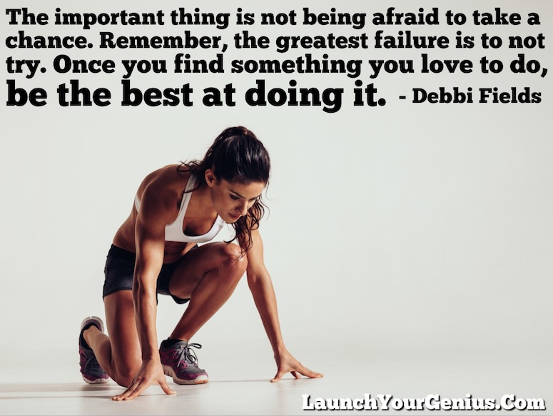 Be The Best At Doing Something