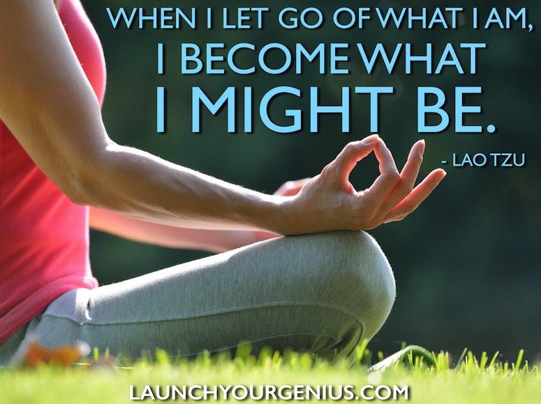 Letting Go-Lao Tzu