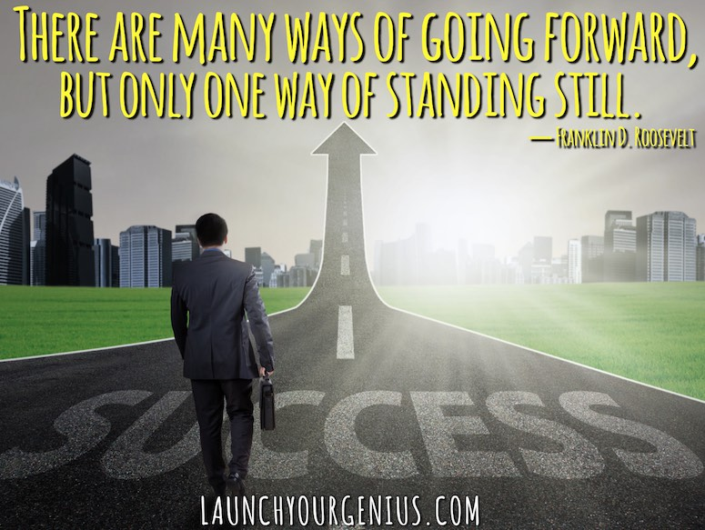 MAny ways of moving forward