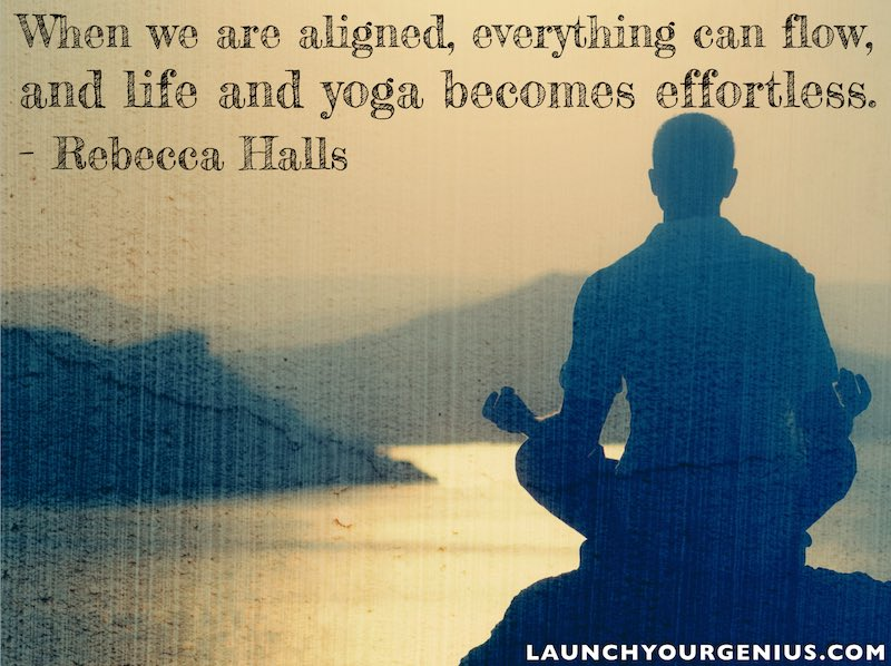 when we are aligned