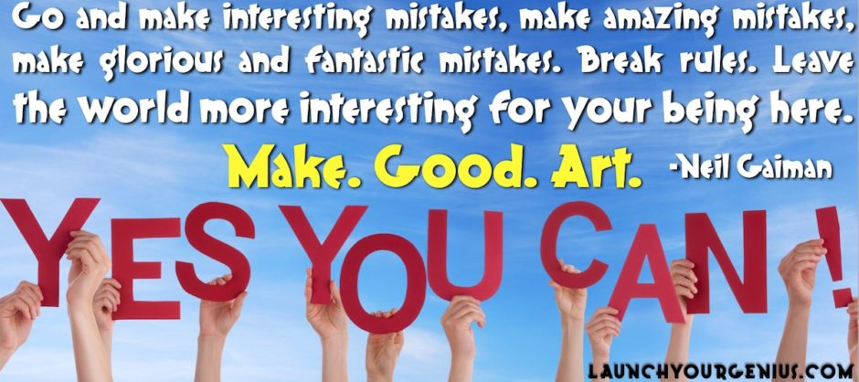 Make Amazing MIstakes!