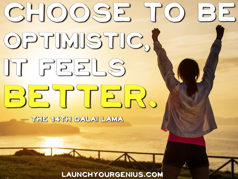 Choose to be Optimistic
